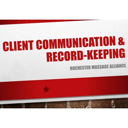 Communication & Record Keeping - Online Training | Verrolyne Training