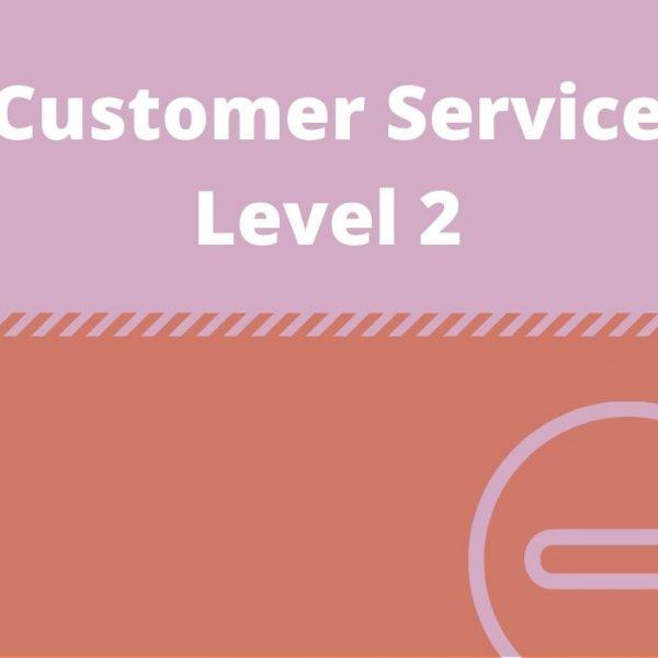 Customer Service Level 2-https://verrolynetraining.co.uk/