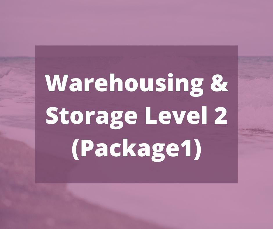 Warehousing & Storage Level 2 (Package1) - verrolynetraining.co.uk